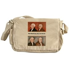 What Would They Do? Messenger Bag
