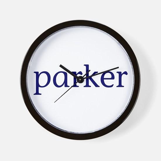 Parker Wall Clock