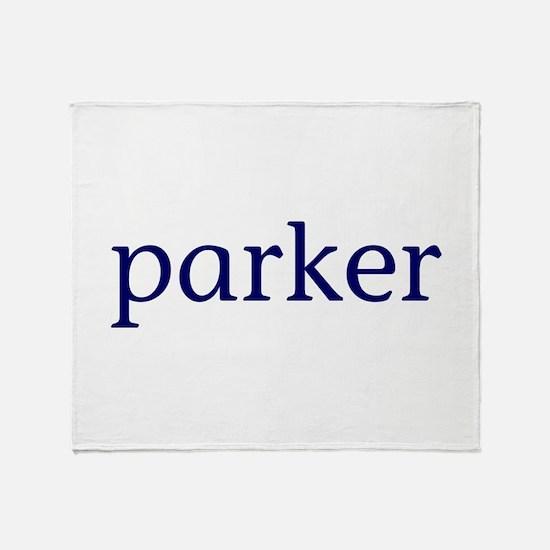 Parker Throw Blanket