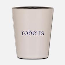 Roberts Shot Glass