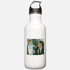 JFK and Son Water Bottle