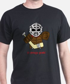 Lil Vintage Hockey Goalie T-Shirt