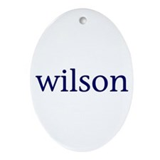 Wilson Ornament (Oval)