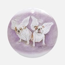 Angels Among Us Ornament (Round)
