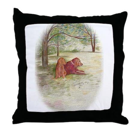May December Throw Pillow