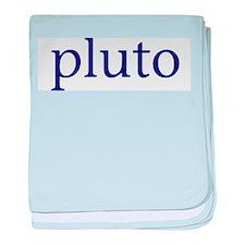Pluto baby blanket