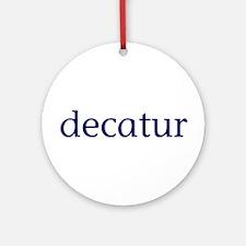 Decatur Ornament (Round)