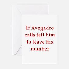 funny chemistry jokes Greeting Cards (Pk of 10)