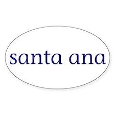 Santa Ana Decal