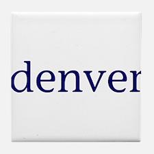 Denver Tile Coaster
