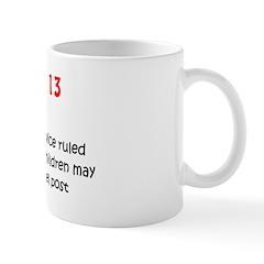 Mug: U.S. Postal Service ruled today in 1920 that