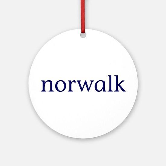 Norwalk Ornament (Round)