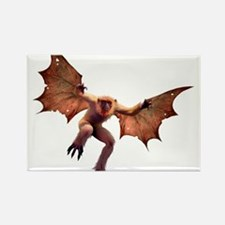 Scary Ass Winged Monkey Rectangle Magnet