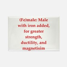 funny chemistry jokes Rectangle Magnet