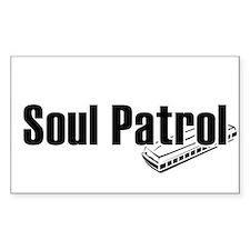 Soul Patrol Rectangle Decal
