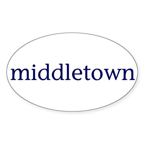 Middletown Sticker (Oval)