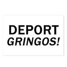 Deport Gringos Postcards (Package of 8)