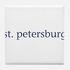 St. Petersburg Tile Coaster