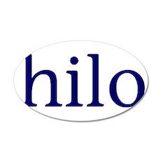 Hilo 22x14 Oval Wall Peel
