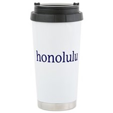 Honolulu Travel Mug
