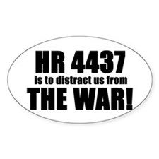 HR 4437 Oval Decal