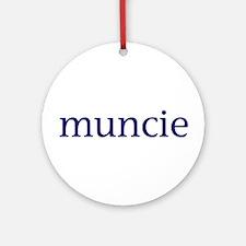 Muncie Ornament (Round)
