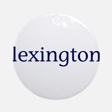Lexington Ornament (Round)