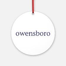 Owensboro Ornament (Round)