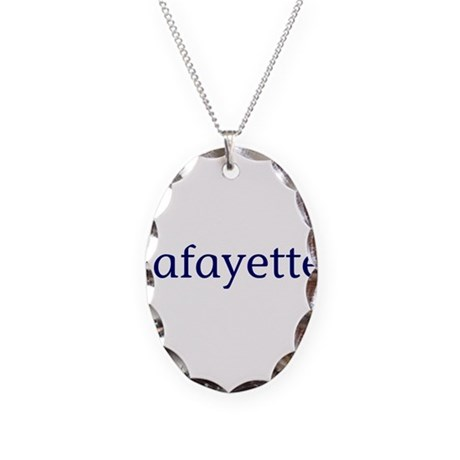 Lafayette Necklace Oval Charm