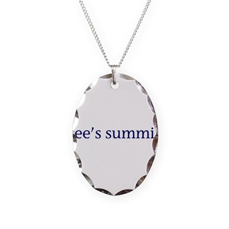 Lee's Summit Necklace Oval Charm