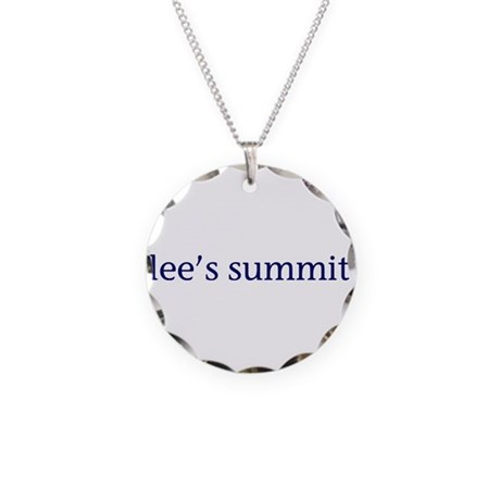 Lee's Summit Necklace Circle Charm