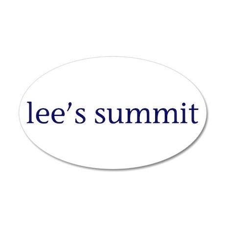 Lee's Summit 22x14 Oval Wall Peel