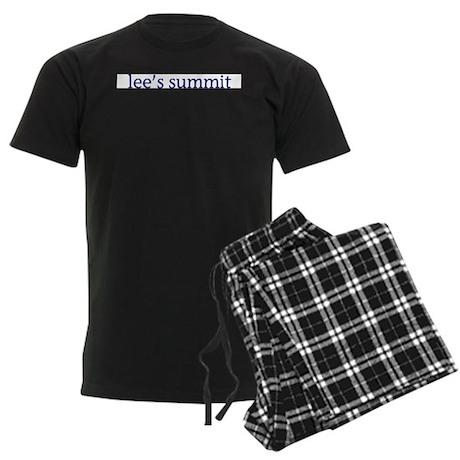 Lee's Summit Men's Dark Pajamas