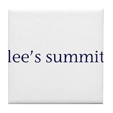 Lee's Summit Tile Coaster