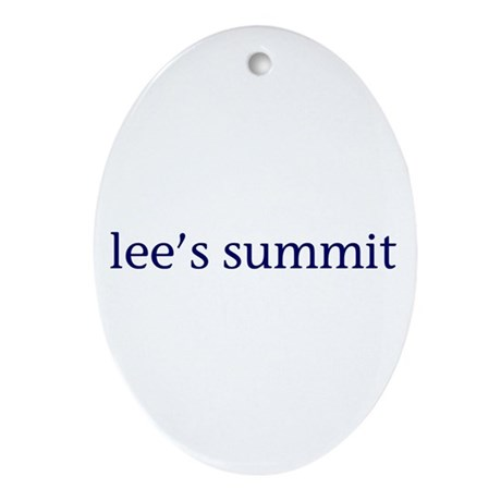 Lee's Summit Ornament (Oval)