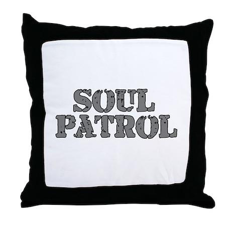 Soul Patrol Throw Pillow