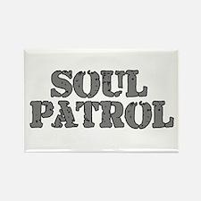 Soul Patrol Rectangle Magnet
