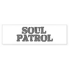 Soul Patrol Bumper Bumper Sticker