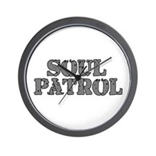 Soul Patrol Wall Clock