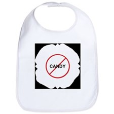No Candy Bib