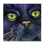 Charlemagne Cat Tile Coaster