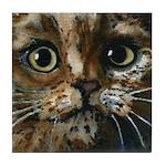 Gresham Cat Tile Coaster