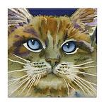 La Dolce Vita Cat Tile Coaster
