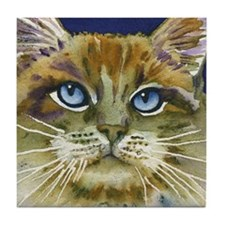 La Dolce Vita Cat Tile Coaster