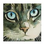 Juliet Cat Tile Coaster