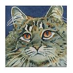 Maine Coon Cat Tile Coaster