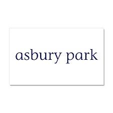 Asbury Park Car Magnet 20 x 12