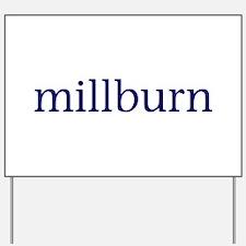 Millburn Yard Sign