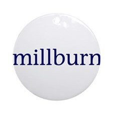 Millburn Ornament (Round)