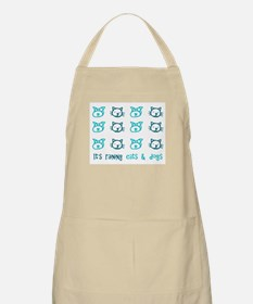 Raining Cats and Dogs BBQ Apron